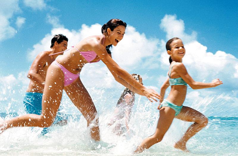 vacance en famille