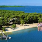 Des vacances près du lac d'Hourtin