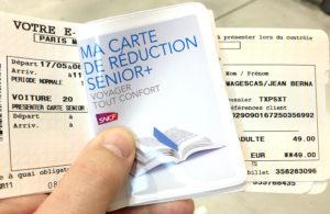 carte senior plus sncf Les cartes de réduction allouées par la SNCF – Les astuces pour